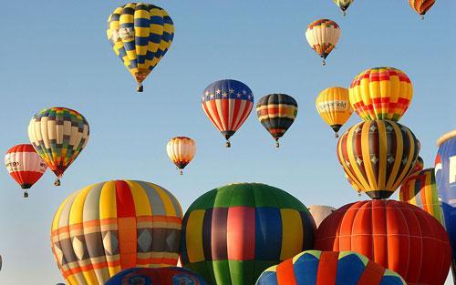 社任何有关热气球的谘询