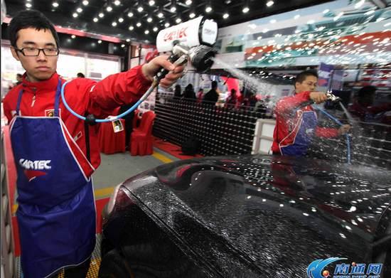 全国欧式洗车大赛南通站开赛