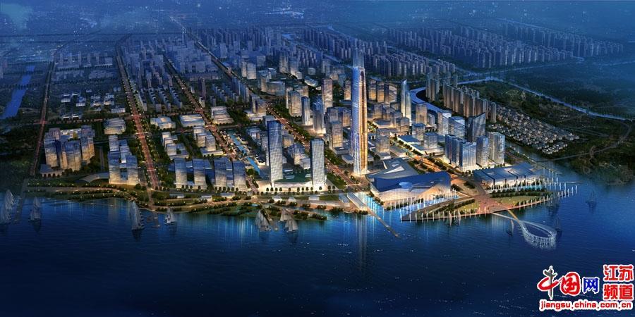 吴江滨湖新城鸟瞰图3
