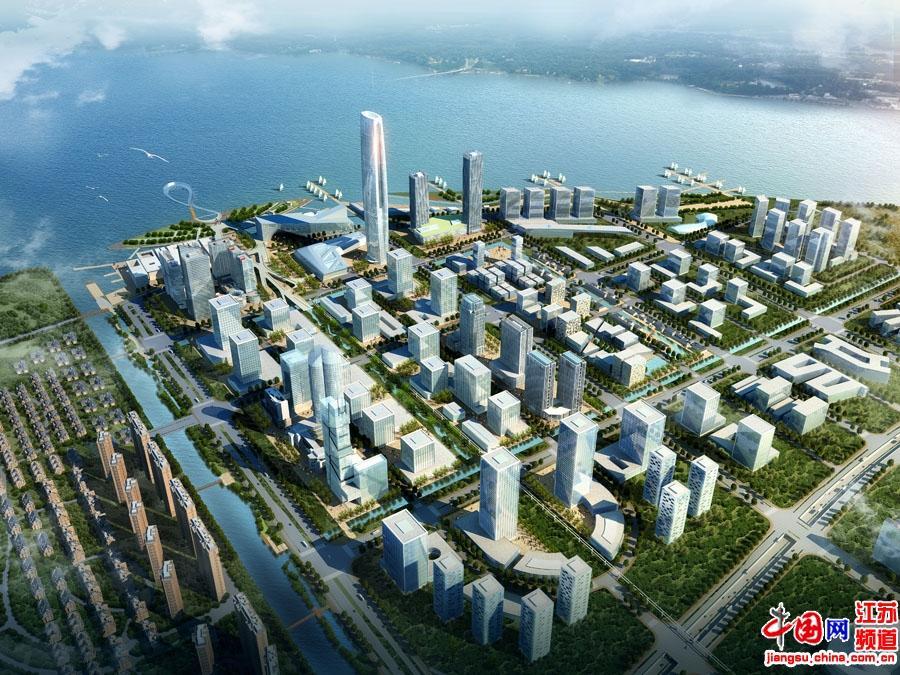 吴江滨湖新城鸟瞰图6