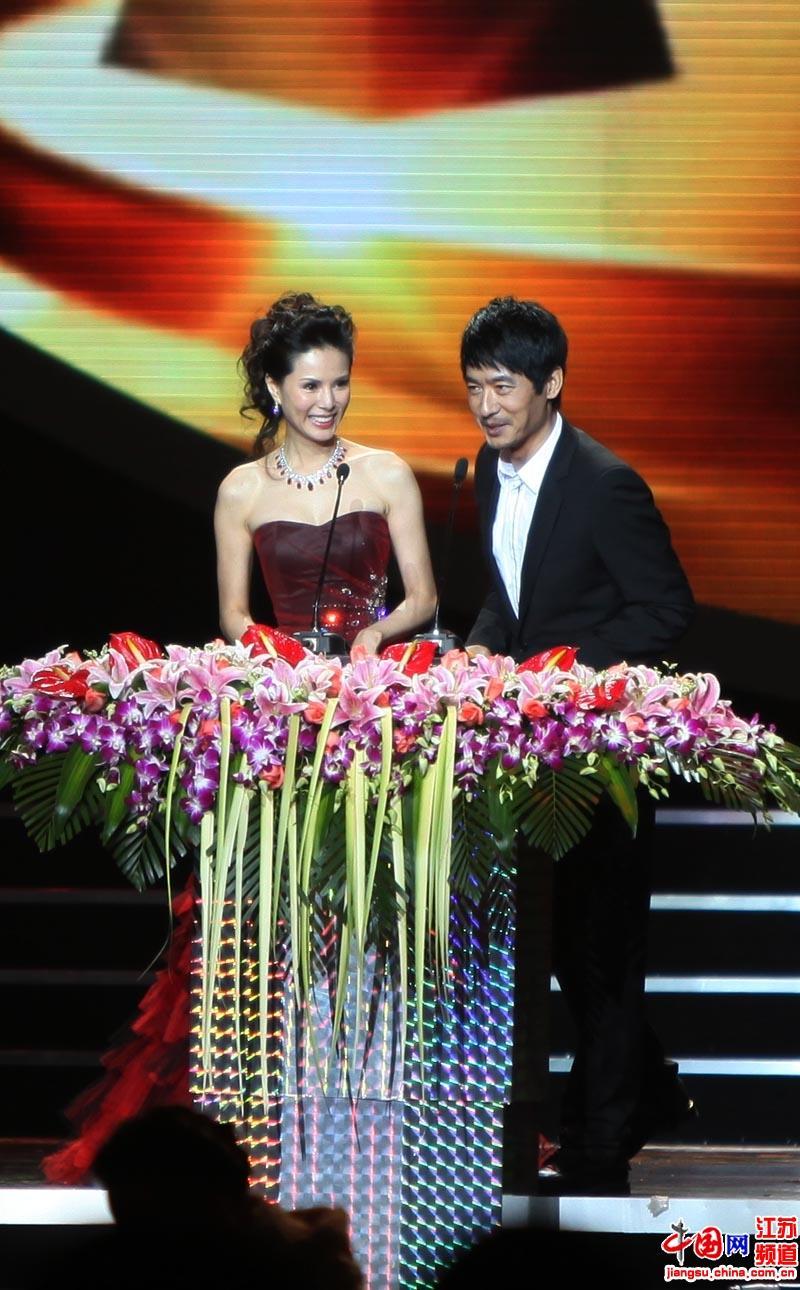 南京首届金微奖 国际微电影节颁奖晚会(摄影 郑鹏)