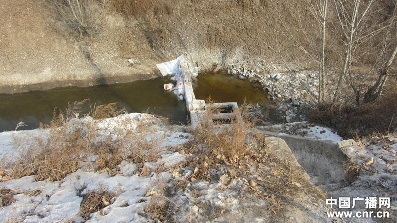 污染事故发生后,新污水在此拦截通过地下水管改道,不再流往浊漳河