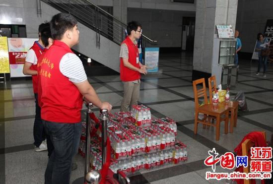 江苏大学生志愿服务西部、苏北计划面试在南林大举行