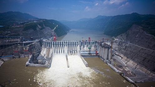 中国第二大水电站溪洛渡电站投产 相当于又一座三峡电站