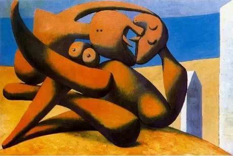 毕加索眼中的性喜剧:小驴与母驴的交媾 亚威农的少女