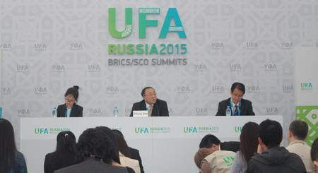 外交部介绍金砖国家领导人会晤有关情况图片