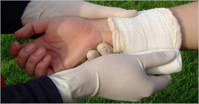 怎样包扎伤口_骨折包扎法相关图片展示_骨折包扎法图片下载