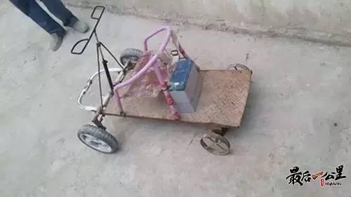手工制作电动车!