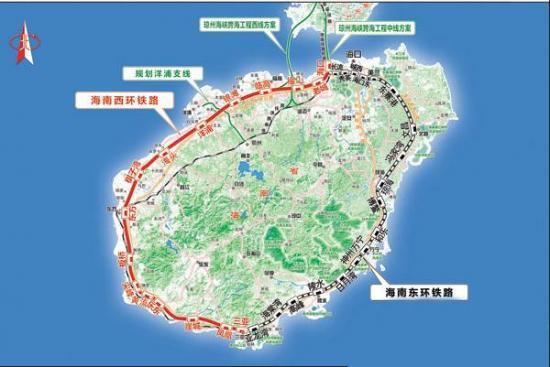 """世界首条环岛高铁开通 海南驶入""""一带一路""""快车道"""