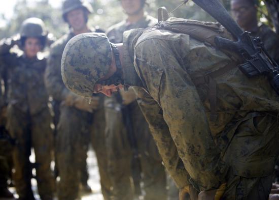 美军工程兵训练堪比特种部队