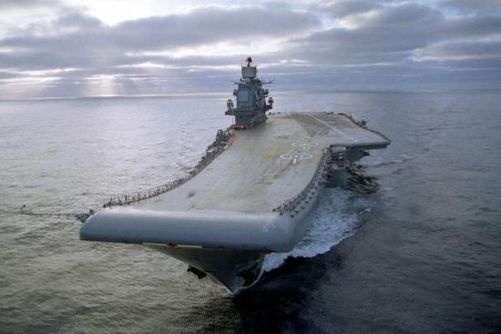 超清大图:苏联造多艘航母如今俄仅剩一艘