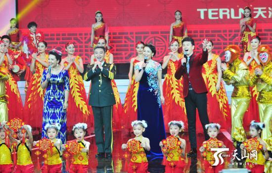 中拉开序幕,蒙古族民歌