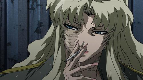 叛逆的优雅~盘点动画中吸烟的美女:《海贼王》贝尔&b