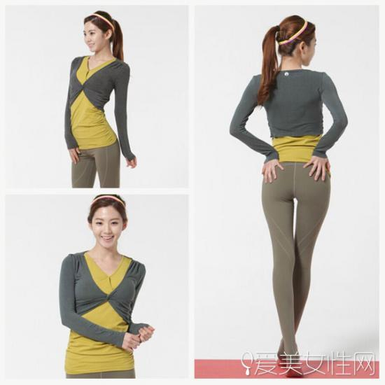 服装设计图背部