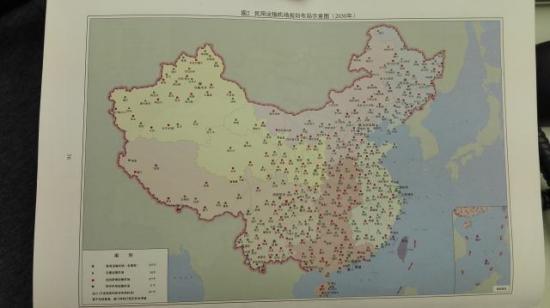 最东面是沿海高速铁路,从海口,广州,福州,十三五中国高速铁路网曝光