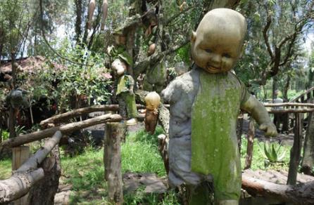 揭秘墨西哥娃娃岛:满树恐怖娃娃令人震惊
