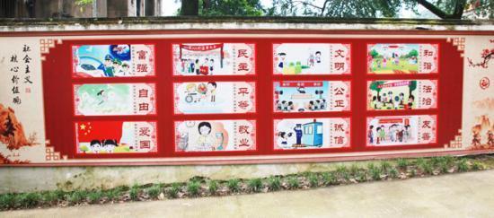 通过宣传栏,宣传橱窗(电子屏幕),黑板报,展板,校报校刊,校园广播站
