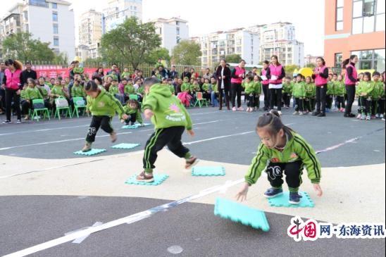 大丰区阳光幼儿园举办第六届亲子趣味运动会