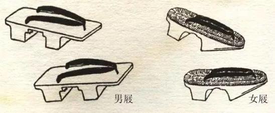木屐是最常见的时尚潮流   是最古老的足衣    ▼ 木屐是汉人在清代