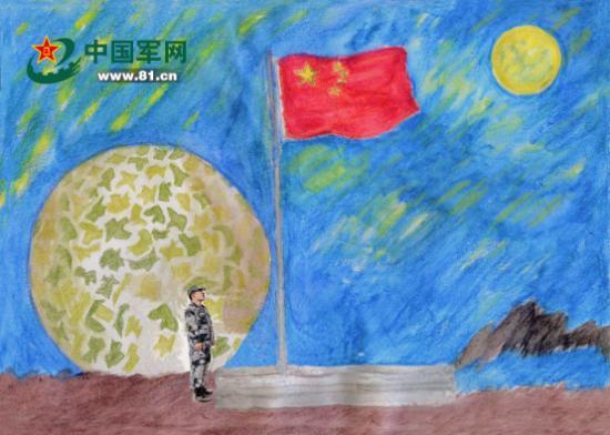 献给戍边卫国的边关军人:甘巴拉的月圆