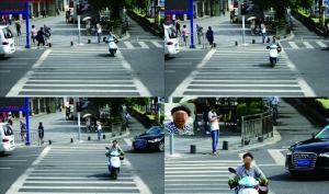 南京启用人脸识别系统抓拍行人违规过马路