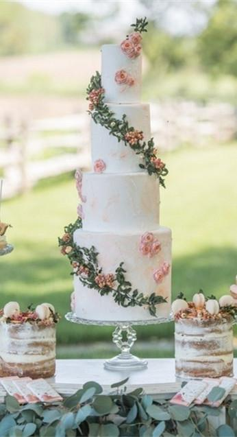 婚礼上的那点绿