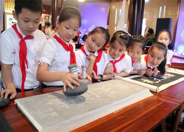 苏州:体验拓片技艺 感受传统文化