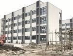 连镇铁路高桥段三学校工程收尾