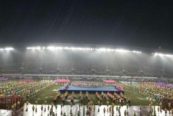 第20届亚洲老将田径锦标赛在南通如皋举行