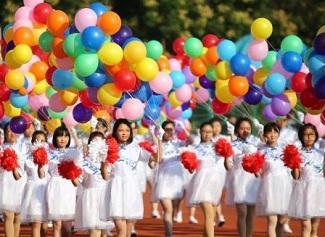 """南京邮电大学运动会上演""""色彩大放送"""""""