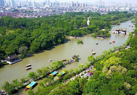扬州古城再现盛景