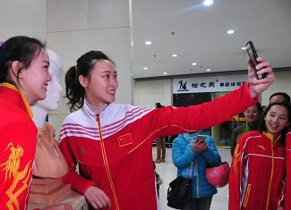 新增南京籍世界冠军头像雕塑仪式在南京举行