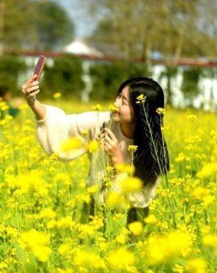 扬州一生态农庄现春景