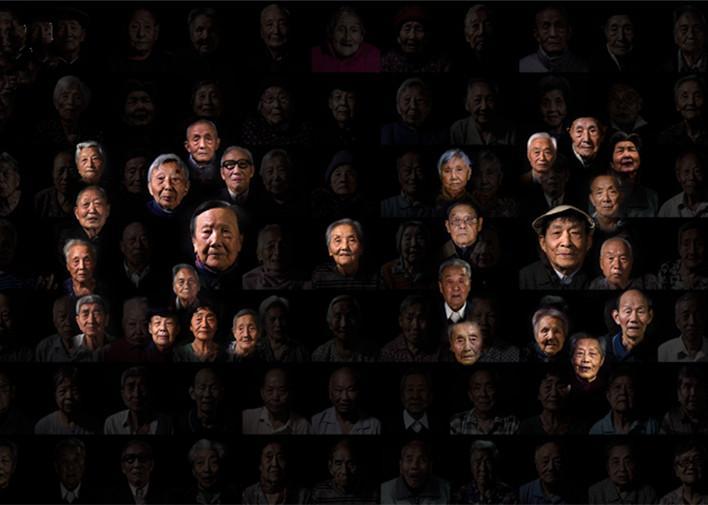 南京大屠杀幸存者群像