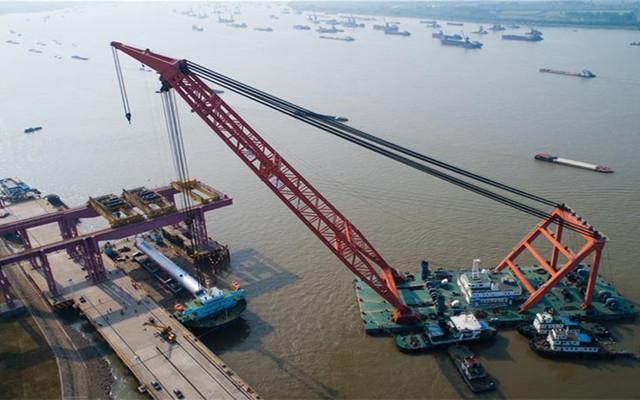 江苏镇江:世界最重加氢反应器发运