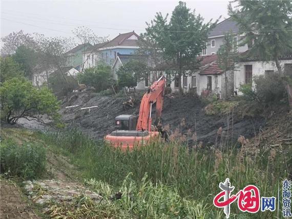 海安市范堑村:加快标准河道建设
