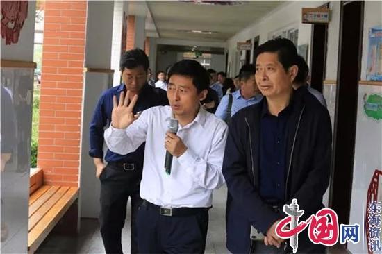 加强校际对话深化合作交流——海安城南实验小学迎接徐州、南通两地教师团队教