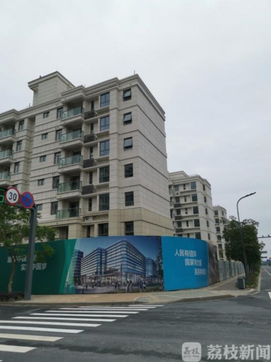 南京江心洲胜科星洲府开发商将样板房卖给业主 未提前告知
