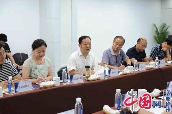 打造优质营商环境徐州市市场监督局负责人到万邦医药现场办公