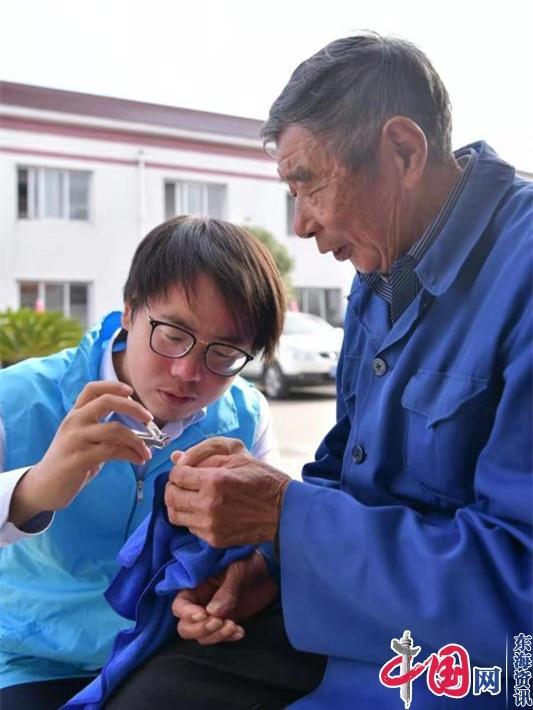 尊老敬老,爱在重阳——海安市城建集团青年志愿者新时代文明实践活动小记