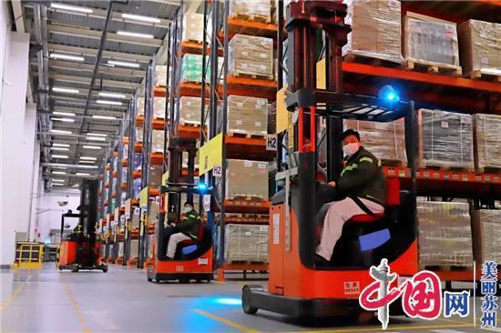 苏州工业园区规上工业企业近100%已开工!