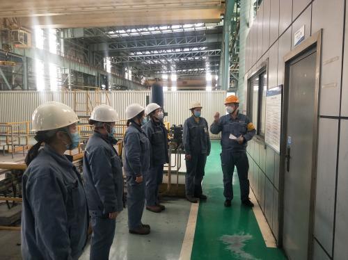 中冶宝钢安全高效完成宝钢硅钢部Q314机组定修任务