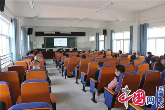 响水县教育系统各级学校陆续举行疫情防控演练