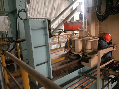 中冶宝钢高效完成宝钢硅钢部行车高危检修项目