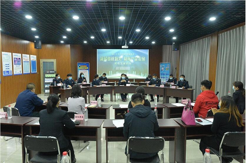 河北承德双滦区税企互动交流 助复产促发展