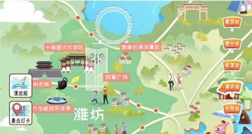 一张地图在手 胶东五市随便走