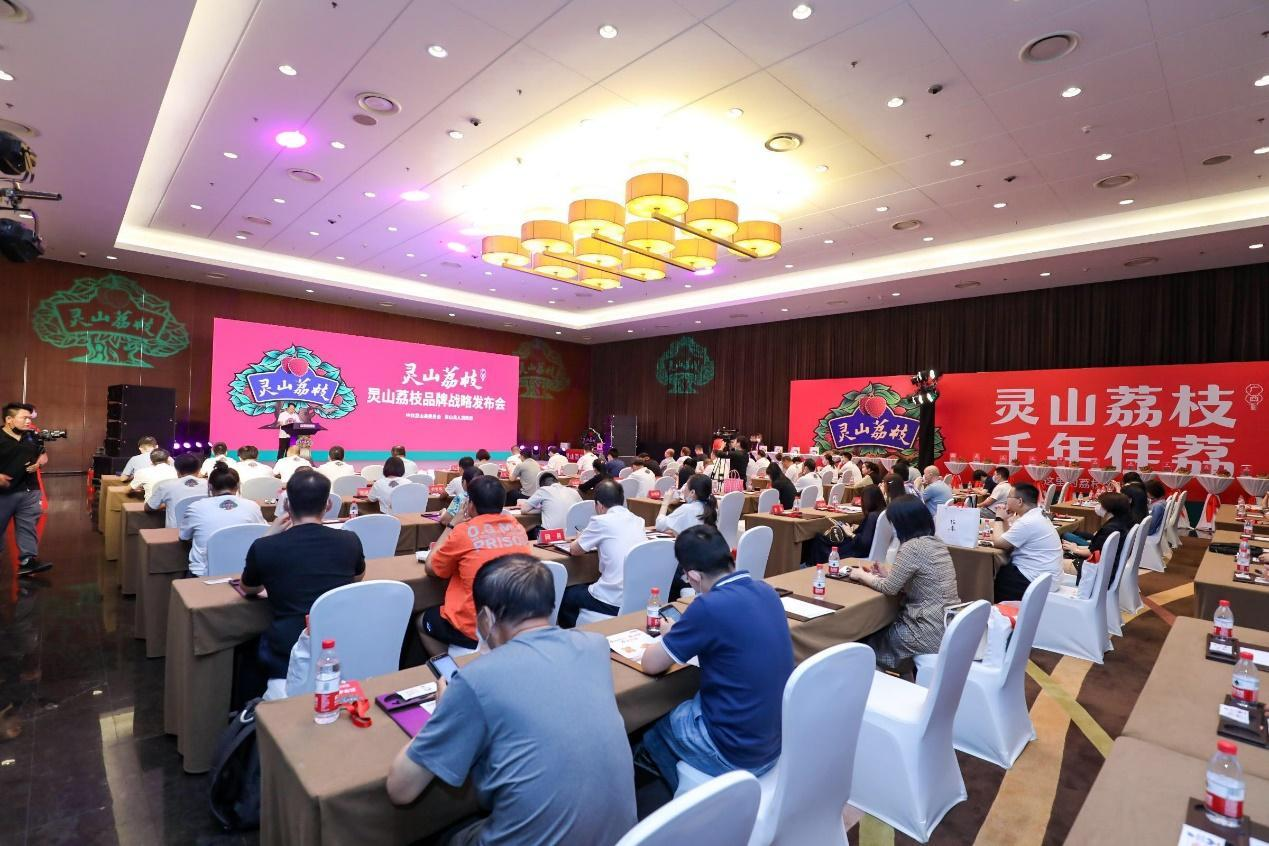 灵山荔枝举办品牌战略发布会 千年荔乡吹响产业高质量发展号角
