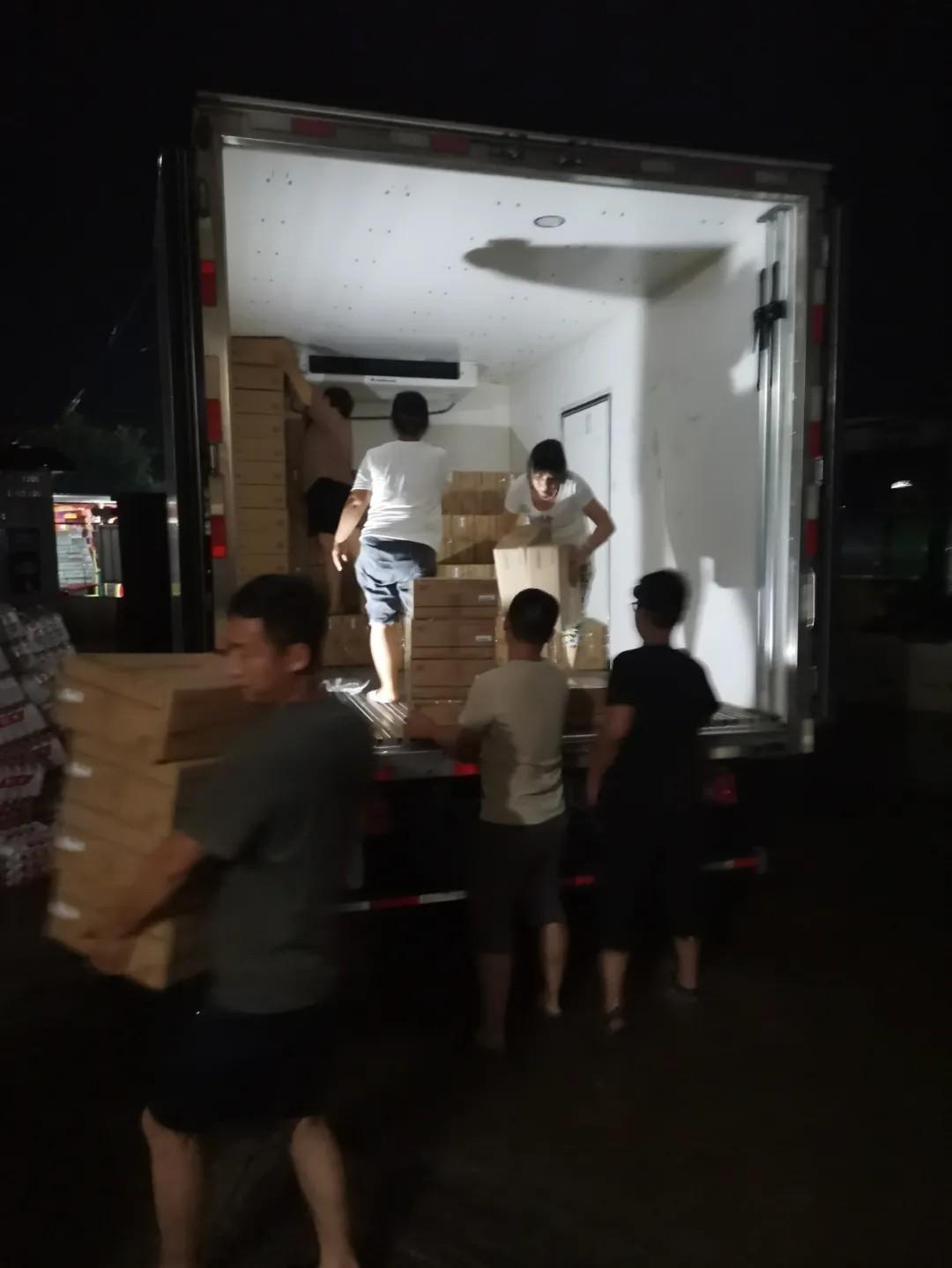 又一批!四季沐歌集团驰援物资抵达河南